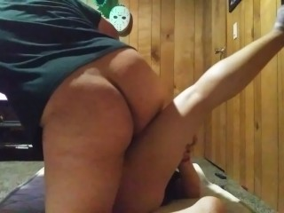 Big booty thick mexican jiggles booty and claps...