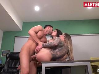 ScamAngels – Valentina Nappi And Karma Rx Big Ass USA Sluts Rough Office Threesome – LETSDOEIT