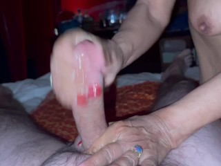 Rough service by thai granny parlor...