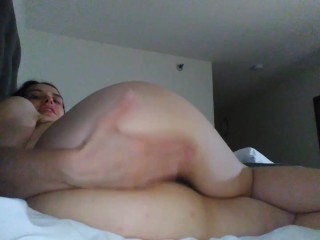 Giant Ass Big Booty Hoe PAWG Slut PinkMoonLust Exhibits Sexy Butt Camgirl Shows Off Thickness Holes