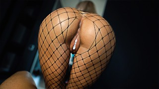 Perfect Ass Sits on a Big Cock — POV Creampie Fuck