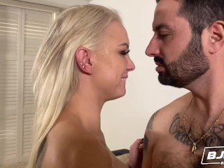 BJRAW Kenzie Taylor is hungry for cock