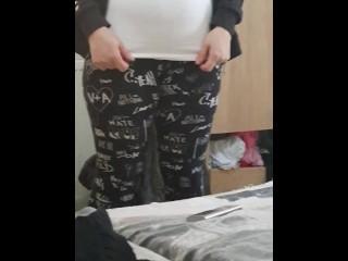 Yoga instructor cock...
