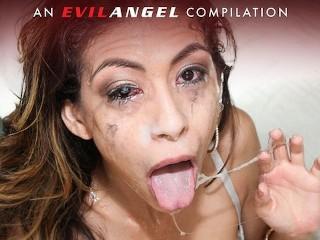 Evilangel the sloppiest deepthroats face fucks compilation pt...