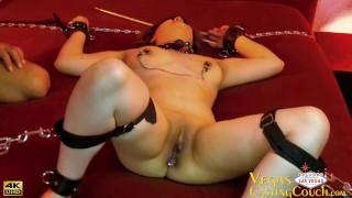 Lacey Laze- 20yr Latina Natural Breasts Meets Vegas Mayhem EXTREME BDSM In Las Vegas