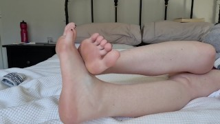 Will you lick step moms smelly feet?