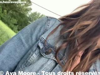 Ava Moore – Baisées par 2 Blacks dans les bois avec une milf – PORNO REALITE