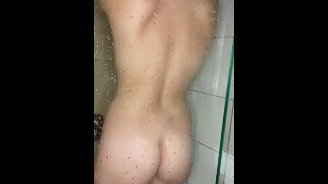Miss Picasso enjoys her wet pussy in the shower 10