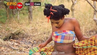 Mikään ei ole makeampaa kuin afrikkalainen pillu
