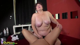 OLDNANNY Compilation Of Hot Mom Sex Adventures