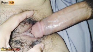 Real wife POV close up sex + creampie #4 (60 fps)