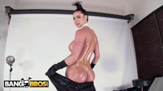BANGBROS - Epic Photoshoot With Curvy MILF Kendra Lust