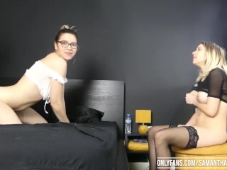 Naughty Stepdaughter Ep. 19 Part 3: Second girl has her turn