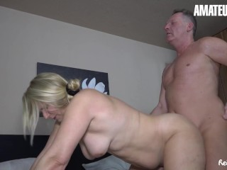 REIFESWINGER – SWEET SUSI CHUBBY GERMAN MATURE HOT FUCK WITH OLD GUY