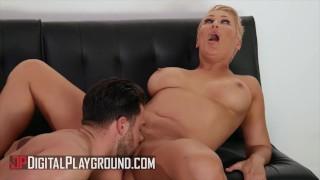 DigitalPlayground - Sexy Busty Milf Ryan Keely Cheats On Her Husband With A Man