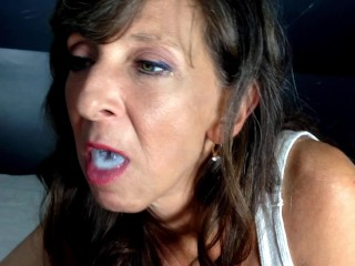 Oral service performed she swallows...