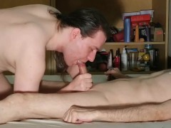Sensual blowjob for Stepdaddy for more allowance HD