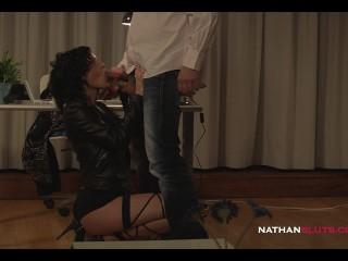 Hot Latex-Clad Euro Hookers Jessie Volt & Julie Skyhigh Get Their Ass DESTROYED By Joss Lescaf BBC