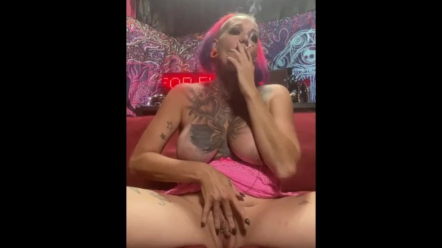 Chassidy Lynn - Smoking Milf Tease 18