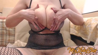 WOW!!! JIGGLY SAGGY TITS POV 🍓