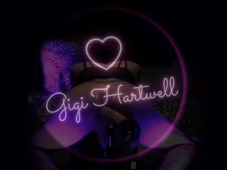 Gigi hartwell tries out a 12 inch dildo...