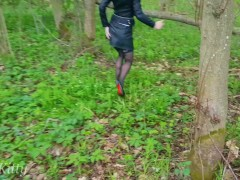 I COULDN'T RESIST FUCKING MY STEPSISTER IN THE FIELD AND IN THE WOODS BY THE ROAD! - PLAYSKITTY
