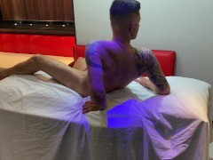 hot crown earns her husband's night voucher and goes to a massage parlor for women only. complete