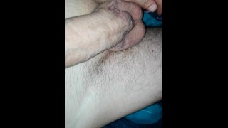 I need to work on my shaving technique butt at least my balls are empty