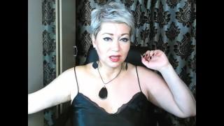 Super mature Russian slut AimeeParadise's asshole gaping .!. ))