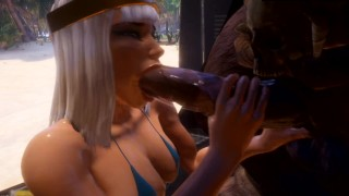 Cleo x Monster Cocks 3D