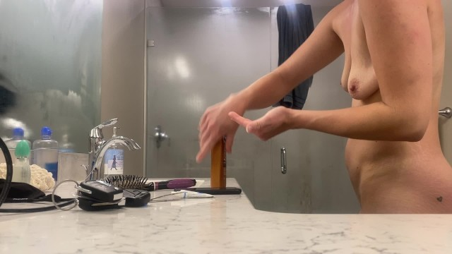 Stayed at an Air BnB - Had to set up the camera - Hottest ACTUAL MILF on pornhub??? 44