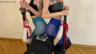 Lesbian Facesitting Bondage