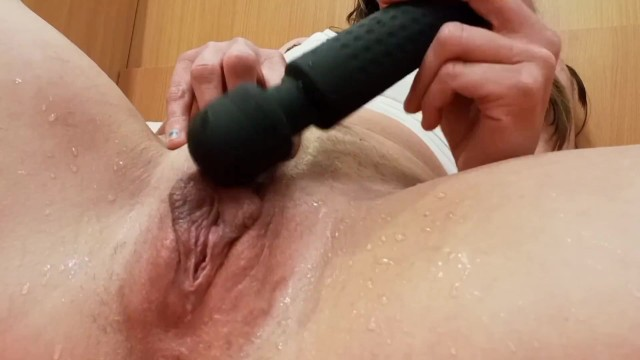 Horny teacher pisses, squirts and creams everywhere with new toy 18