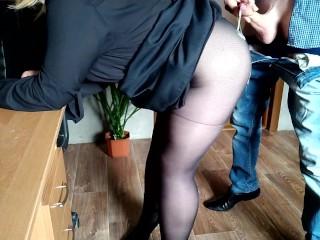 Gorgeous of the secretary...