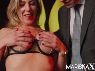 MARISKAX Tina and Nikky share a big hard cock