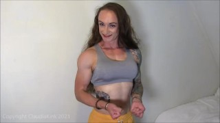 Trailer: Staring at my Muscles? Flex and Chat