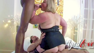 AGEDLOVE Mature Lady Lacey Starr Cuddling and Hardcore Sex With Alexei Jackson