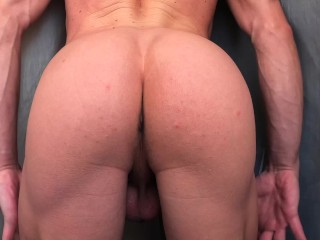Spanked sweet booty...