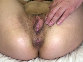 Pussy fingering close up...