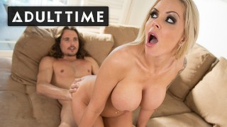 ADULT TIME - Cheating Housewife Nina Elle Caught Having Phone Sex by Stepson Tyler Nixon
