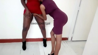When the Boss Feels Horny The Office Transforms As Her Huge Thighs Need Touching
