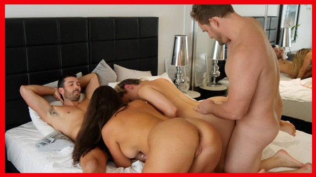 Real Swingers Swap for the First Time in Group Sex Full Version