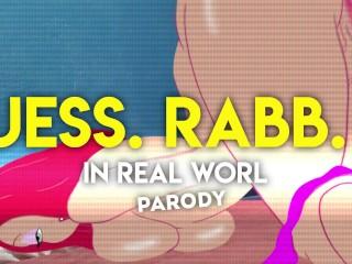 Jessica rabbit 2 riding big cartoon japanese animation...