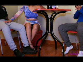 Cuckold husband lets his horny wife eat his...
