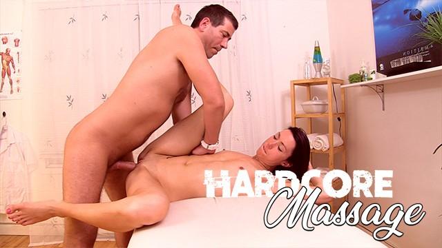 Hardcore Massage - Skinny Milf Oiled-Up & Fucked during Massage