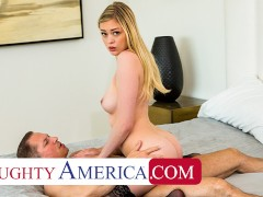 Naughty America - Amber Moore loves older men and their cocks