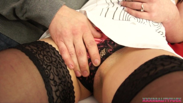 Horny amateur couple showing hot fuck and facial cum on camera 2
