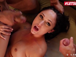 DOEPROJECTS – ARIANA MARIE AMERICAN BABE HAS INSANE PASSIONATE THREESOME SEX FULL SCENE