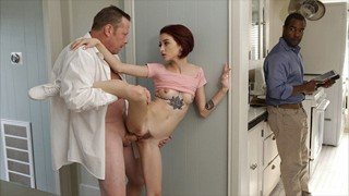 """To Step Daddy's Friend """"You know you want to touch me!"""""""