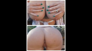 My step mom sent dad this video and asked him what he wants to fuck tonight ..ass or boobs ..